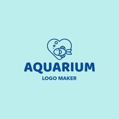 Online Logo Maker for an Aquarium 1191e