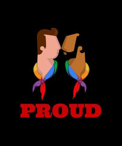 LGBT T-Shirt Design Maker 29c