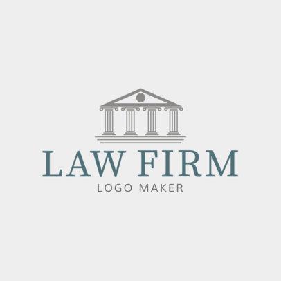Custom Logo Maker for Law Firms 1194a