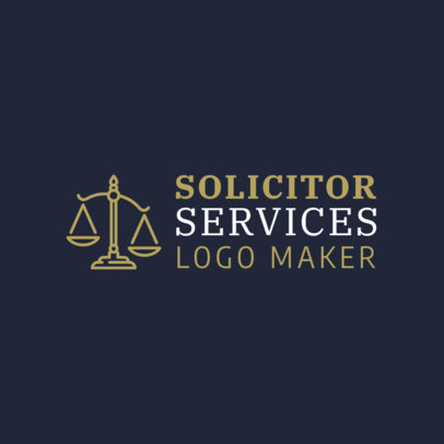 Custom Logo Maker for Solicitors 1194c