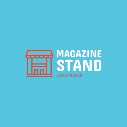 Online Logo Maker for a Newsstand 1282b