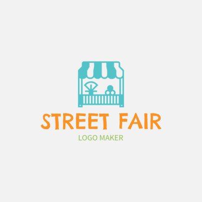 Logo Maker for a Street Fair 1282c