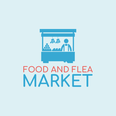 Food Market Logo Maker 1282e