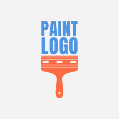 Painter Logo Maker with Different Types of Handles 1164b
