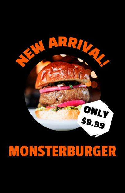Flyer Template for Fast Food Promotions 96b