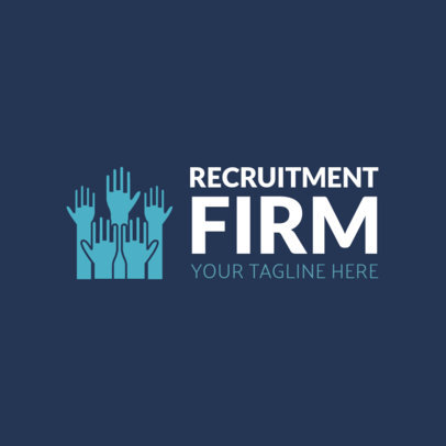 Online Logo Maker for Recruitment Firms 1212a