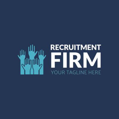 Online Logo Maker for Recruitment Firms 1212a