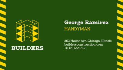 Handyman Business Card Maker 99b