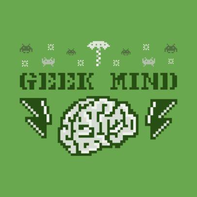 Geek Ugly Sweater T-Shirt Design Maker 652c