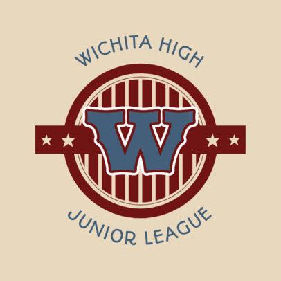 Junior League Logo Maker for Sports Teams 44b