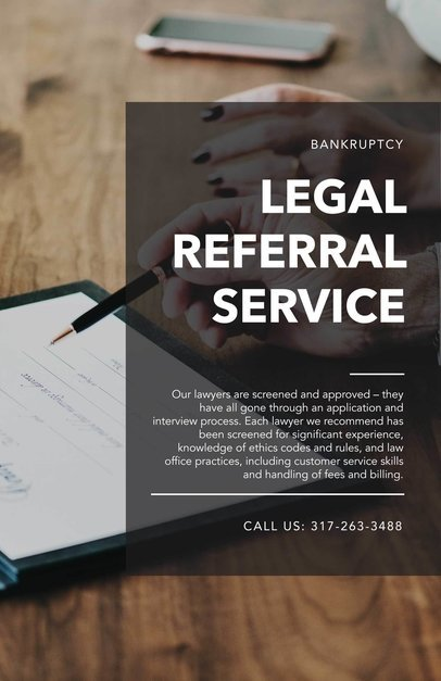 Flyer Maker for Legal Services a335