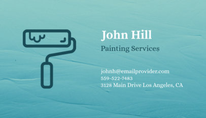 painter business card template - Painting Business Cards