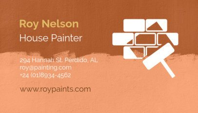 Business Card Maker for House Painters 116d