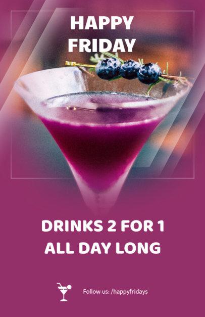 Online Flyer Maker for Drink Promos 117b