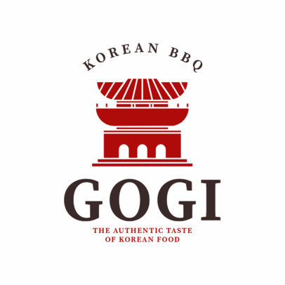 Logo Maker for Korean Restaurants a1222
