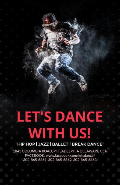 Online Flyer Maker for a Dance Studio 139a