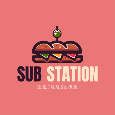 Logo Maker for Sub Restaurants 1230