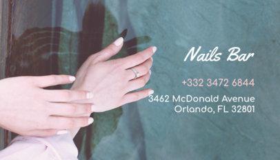 Beautician Business Card Template 126d