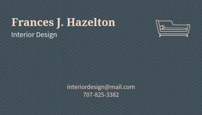 Minimalist Business Card Maker for Interior Designers 178e