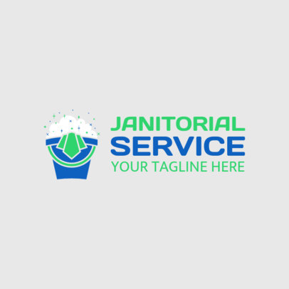 Online Logo Maker for Cleaning Services 1173d