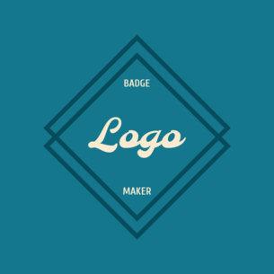 Diamond Logo Maker Blue Theme 353a