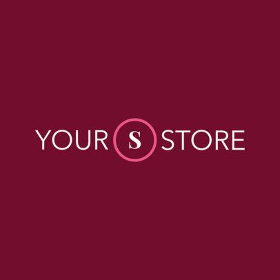 Store Logo Maker with Minimal Design 978e