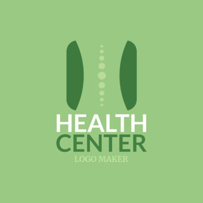 Health Center Logo Maker 1188a
