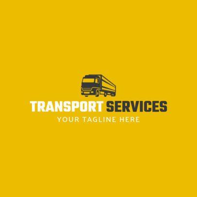 Transportation Services Logo Maker 1181c
