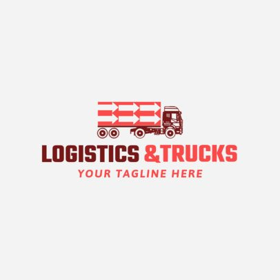 Logo Maker to Design Trucking Services Logos 1181d