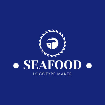 Online Logo Maker for Greek Seafood Restaurants 1218b
