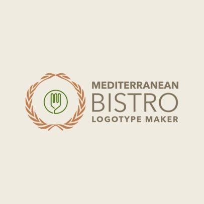 Online Logo Maker for Mediterranean Bistros 1218f