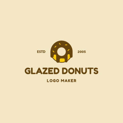 Logo Maker to Design a Logo for a Donut Brand 1232d