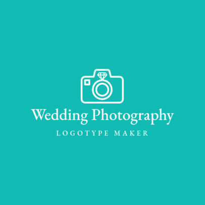 Wedding Photography Logo Maker 1196b