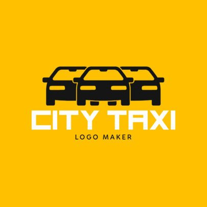 Custom Logo Maker for Taxi Company with Car Icons 1189c