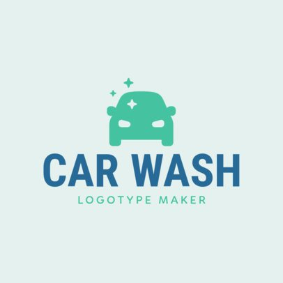Online Logo Maker for Car Wash Business with Car Icons 1189f