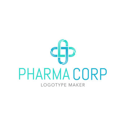 Custom Logo Maker for Pharma Companies with Pharmacy Icons 1172b