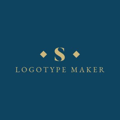 Apparel Logo Maker with Minimalist Design 1066e