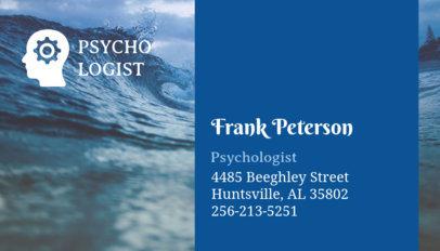 Mental Health Business Card Maker 193d