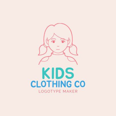 Online Logo Maker for a Kids Clothing Store 1170f