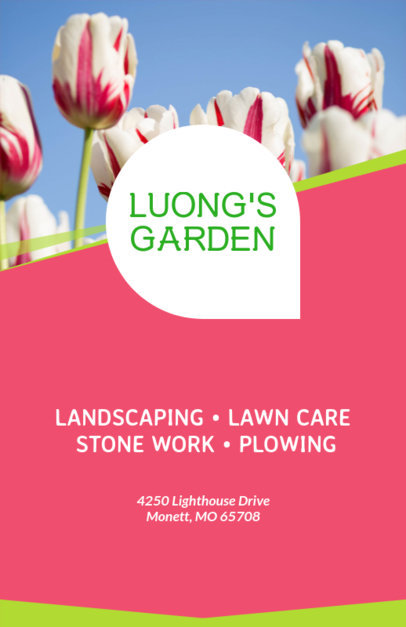 Landscaping Online Flyer Maker 159b