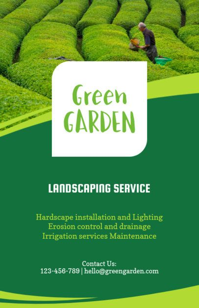 Landscaping Service Online Flyer Maker 159e