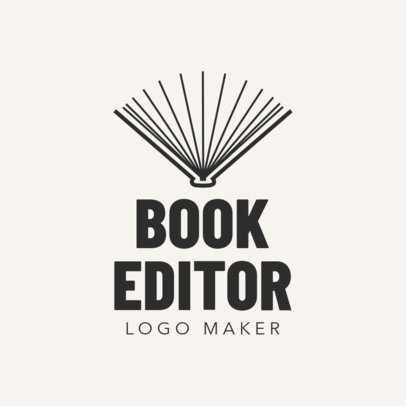 Online Logo Maker for Book Editors 1142b