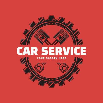 Online Logo Maker for a Car Service Shop 1165b