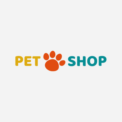 Pet Shop Logo Maker 1161a