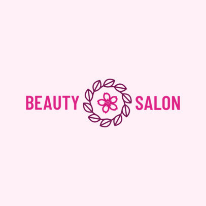 Beauty Salon Logo Maker 1150a