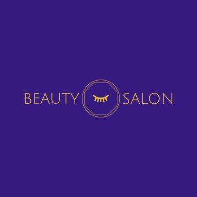 Stylist Salon Logo Maker 1150c