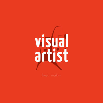 Modern Logo Template for Artists 1187e