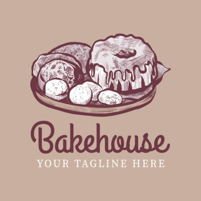 Logo Maker for Bakehouse Logo Designs 1133b