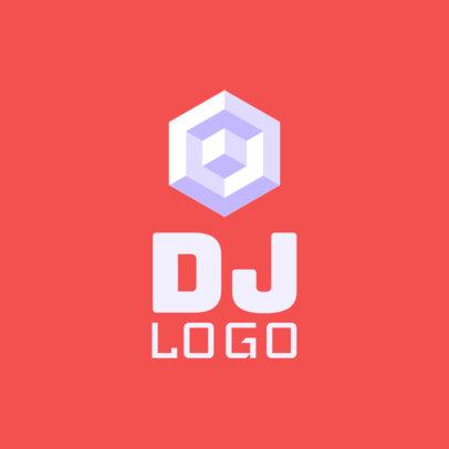 Music DJ Logo Maker 1081e