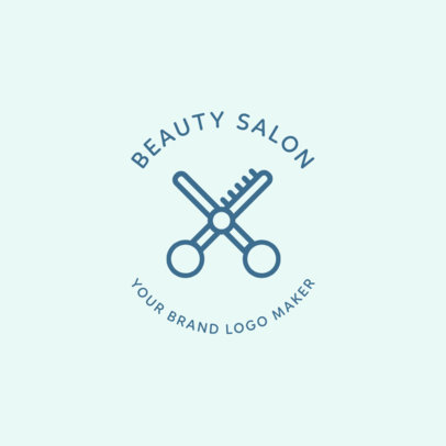 Beauty Salon Logo Maker 1145f